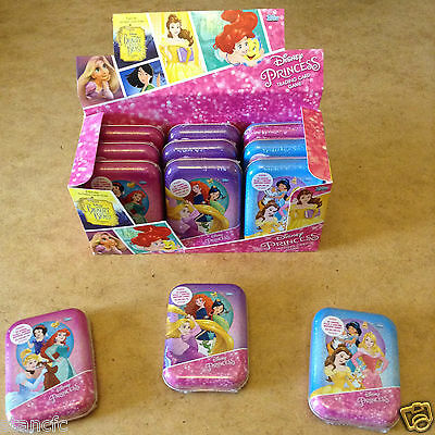 Topps Disney Princess Trading Card Mini Tin Includes Beauty And The Beast Card