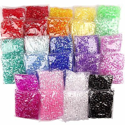 400x Large 10mm Scatter Crystals - Table Confetti Large Size Craft Wedding Decor