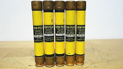BUSSMANN * LPS-RK-15SP * Low Peak Time Delay Fuse * LOT OF 5 *NEW*
