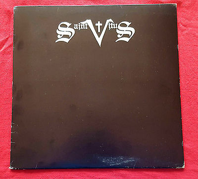 Saint Vitus Same LP 1984 Rare First Pressing SST Records Embossed Silver Letters