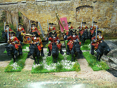 12 Pro-Painted 28Mm Front Rank  British Wss Cavalry