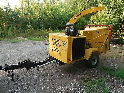 2011 Vermeer Bc1000Xl 12 Inch Wood Chipper, 85 Hp, Smart Feed, Bottom Stop Bar