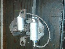 Ford Sierra Cosworth Braided Fuel Pump Pipe Hose Stainless