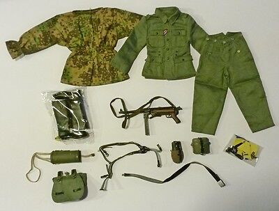 Action figure 1/6 - TOYS CITY SET  WWII GERMAN Uniform and equipments