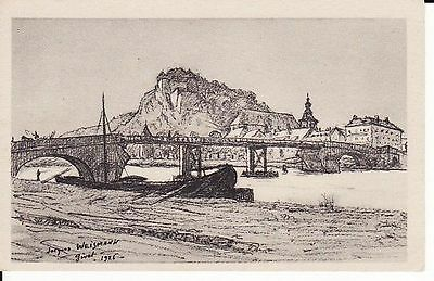 CPA . GIVET 1926 Le Fort Charl  J. Weismann 08 ARDENNES