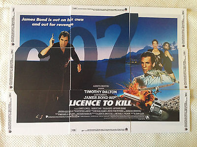 James Bond 007 - License To Kill - 9 Card Set - 40th Anniversity issued 2007