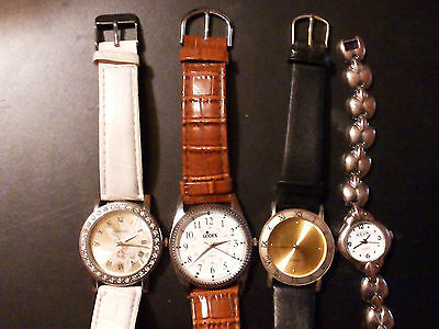 Lot of 4 Used Women's Wristwatches - REDUCED!!