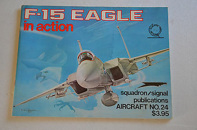 Aviation -  F-15 Eagle In Action - Squadron Signal Publications N°24