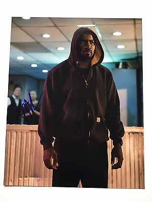 MIKE COLTER Luke Cage THE DEFENDERS Signed 10x8 Photograph - COA b
