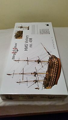 Billing H.m.s Victory 498 Wooden Kit Model Ship Boat Parts,1:75 Scale,new,