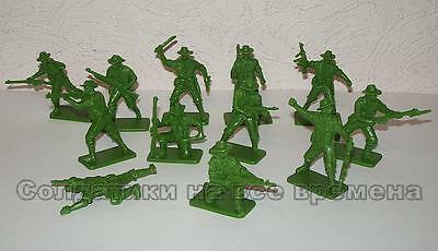NEW!!! Plastic toy soldiers 1/32 World War Two ANZAC infantry set. 12pcs