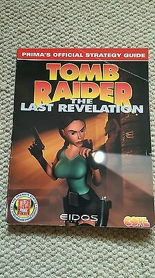Tomb Raider  (The Last Revelation) Strategy Guide.