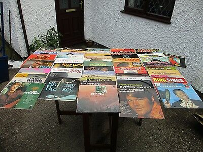 Job Lot Of  Over  50  Assorted  Lp Vinyl Records.      Free  Delivery.