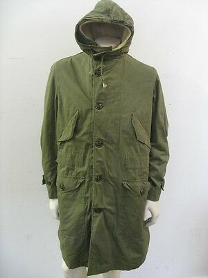 WWII US Army Overcoat Parka Type With Pile Liner Size SMALL