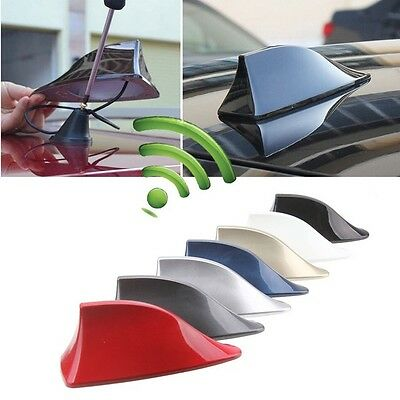 Car Shark Fin Antenna Ariel, Radio Fin Aerial UNIVERSAL FIT.
