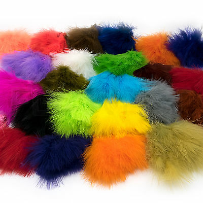 STRUNG MARABOU BLOOD QUILLS - 39 Colors - Hareline Jig & Fly Tying Feathers NEW!
