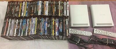 HUGE LOT 90 HD DVD Movie (30 New Sealed) + 2X XBOX 360 Style Players Complete!