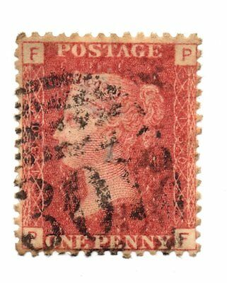 GB stamp, Queen Victoria 1841 one penny red Plate 130