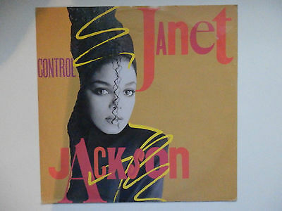 """Janet Jackson Control & What have you done for me lately U.K 12"""" bundle"""