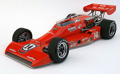 Coyote 1974 Indy 500 Pole Winner AJ Foyt in 1:18 Scale