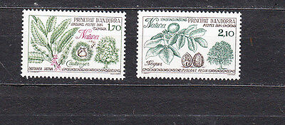 Andorra 1984 Nature Protection Set Mint Never Hinged