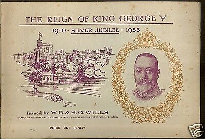WILLS - The Reign of King George V - 1935 - Complete set in Album.