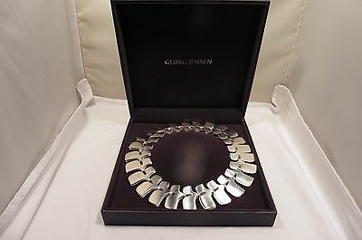 Good Sterling Silver Georg Jensen, Ibe Dalquist,archive Collection Necklace