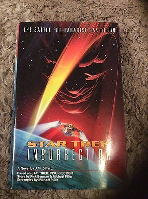 Star Trek Insurrection hardback