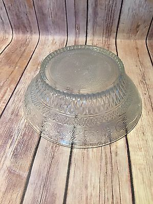 Duncan & Miller Clear Base For Punch Bowl EXC SAndwich glass