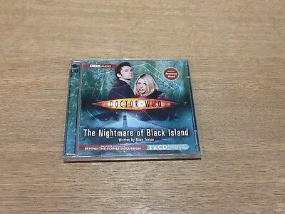 The Nightmare Of Black Island- Doctor Who 2 Cd Audio book 2 Hours 30 Mins Vgc
