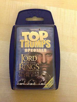 The Lord of The Rings The Return of the King Top Trumps Card Game