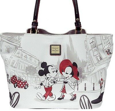 NEW Disney Dooney & Bourke  MINNIE CAFE w/ MICKEY TOTE NWT *Sold Out^ 1st Issue