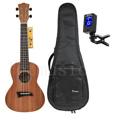 Concert Ukulele 23 inch Hawaii Guitar Musical Instruments Top Solid Mahogany