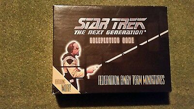Star Trek The Next Generation Role Playing Game Figures.