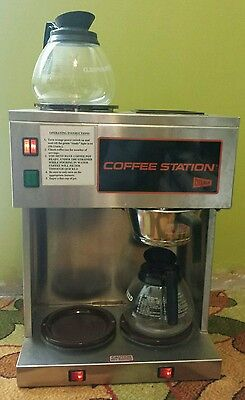 Vtg Cecilware Restaurant Commercial Coffee Brewing Station 3 Warmers CS3 CS3A