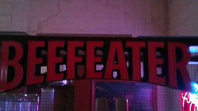 Beefeater Gin sign