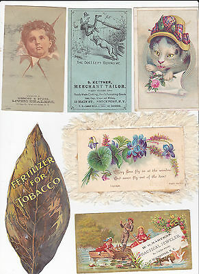lot of victorian trade cards 2
