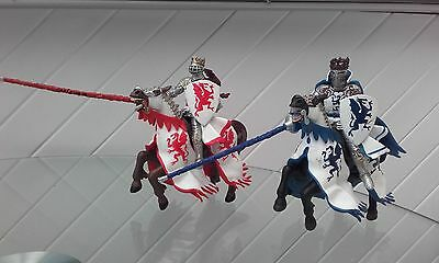 TOY JOUSTING KNIGHTS & HORSES by Schleich