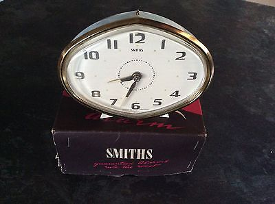 Smiths 1960s Gay Day Repeater Alarm Clock