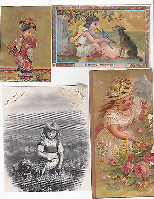 lot of victorian trade cards 5