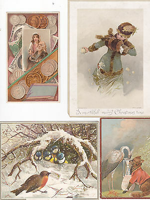 lot of victorian trade cards 9