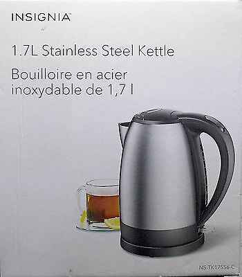 Insignia Stainless Steel 1.7L Electric Kettle - Ns-Tk17Ss6-C