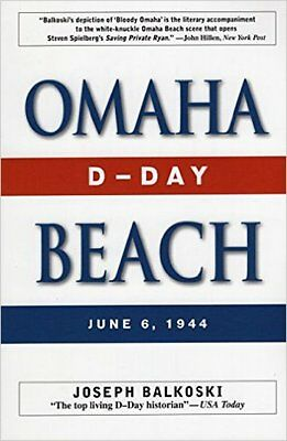 'Omaha Beach' Book By Balkoski SIGNED Two D-Day Veterans, Bistrica & Alvarez