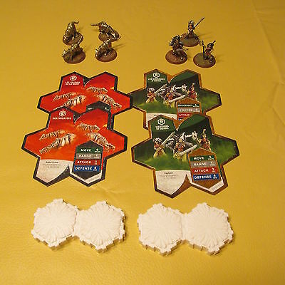 Heroscape expansion set Thora's Vengeance Warriors and Soulborgs complete