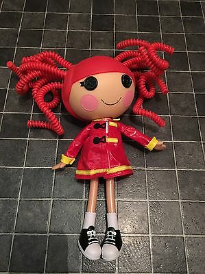 lalaloopsy Red Silly Hair Doll 12 Inch Rain Mac 05 04 In New Condition