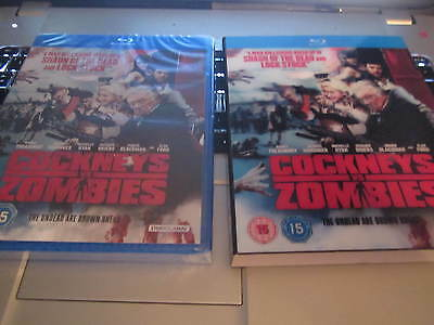 Cockneys Vs Zombies [Blu-ray]  Includes Sleeve New Sealed