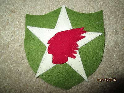 WWI US Army 2nd Division.Sanitary Train Patch AEF