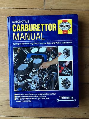 Haynes Automotive Carburettor Manual (3288)