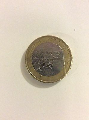 £2 Coin London Olympic 2008 Centenary collector coin.