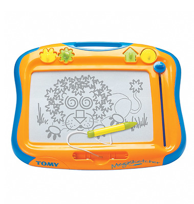 Tomy 6555 Megasketcher Classic Magnetic Childrens Kids Drawing Sketching Board